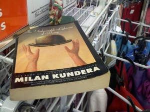 The book at Value Village